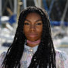 LA ROCHELLE, FRANCE - SEPTEMBER 15: Actress Michaela Coel attends the 'Chewing-Gum' Photocall during the 18th Festival of TV Fiction on September 15, 2016 in La Rochelle, France. (Photo by Laurent Viteur/Getty Images)