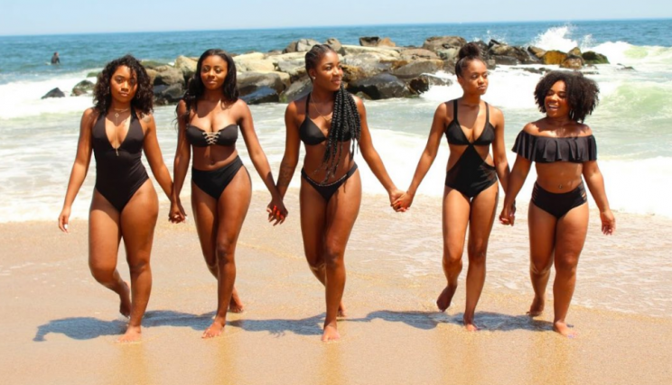 Black News Women Go Viral For Their Incredible Beach Looks