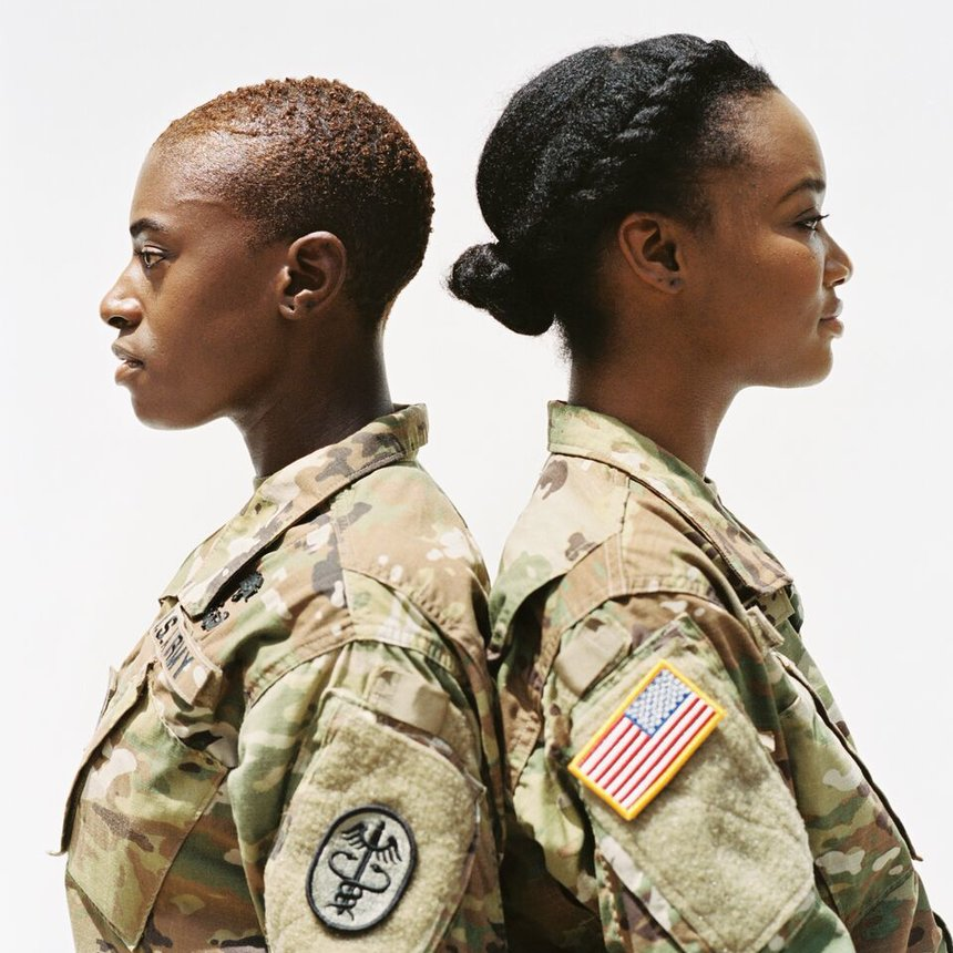 These Black Women In The Military Are Using Their Natural