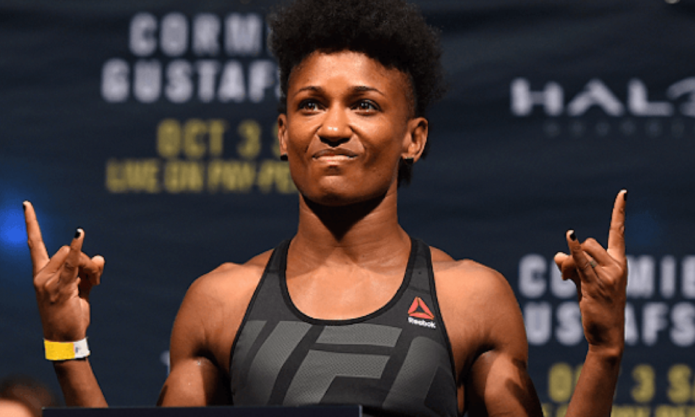 VIDEO: Chael Sonnen Touches Sage Steele's Hair On ...  |African American Mma Fighters