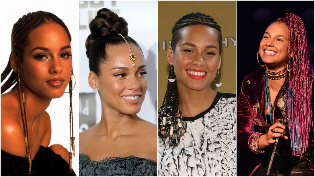 Hairspiration Alicia Keys Most Iconic Braided Looks Over